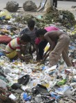Marie Claire world news: slum children
