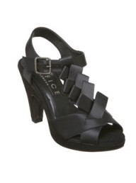 Office Piccalilli platform black shoes
