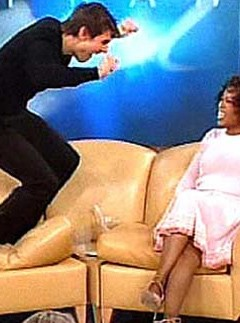 Tom-Cruise on the Oprah Winfrey Show, 23 June 2005