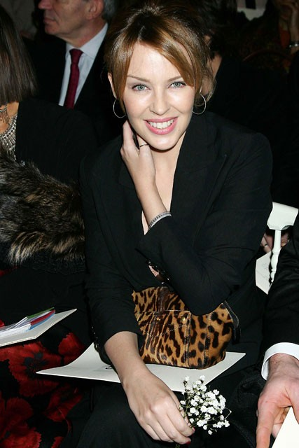 Kylie-Minogue-Jean Paul Gauliter, Paris Couture, Spring Summer 2009, Fashion Show, Catwalk, Celebrity Photos, Marie Claire