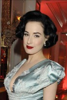 Dita-Von-Teese-The Fashion Dinner Aids benefit, Celebrity Photos, Paris, Couture