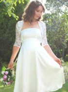 10 Best Maternity Wedding Dresses, fashion, gallery, Marie Claire