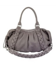 Oushka temple mink leather handbag
