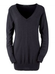 John Lewis Basic Deluxe V-Neck Boyfriend Sweater