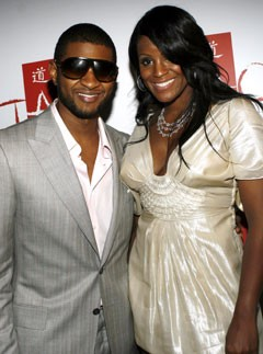 Usher and Tameka Foster, celebrity news, Marie Claire