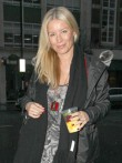 Denise Van Outen out in London