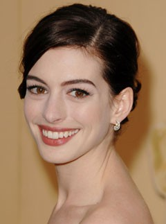Anne Hathaway, Oscars best hair and make-up, celebrity photos, Marie Claire