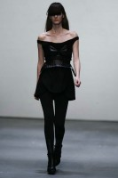 Louise Goldin A/W 2009, London fashion week, catwalk show, Marie Claire