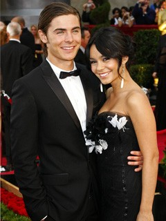 Zac Efron and Vanessa Hudgens at the Oscars 2009