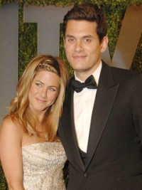 Jennfier Aniston and John Mayer at the Oscars 2009