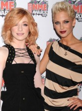 Nicola Roberts-and-Sarah-Harding-NME Awards 2009, Celebrity News