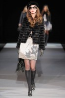 Emporio Armani A/W 2009, Milan Fashion Week, catwalk show, Marie Claire