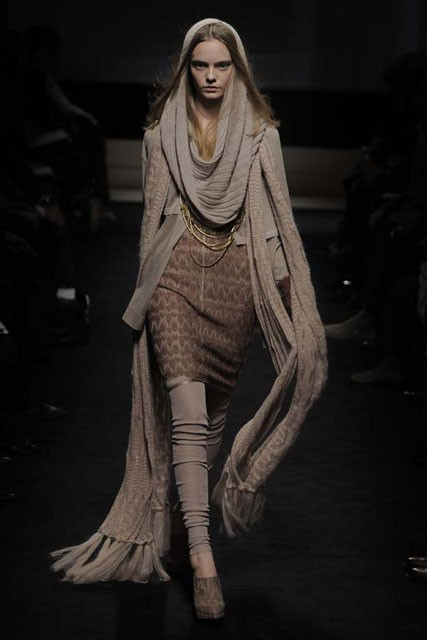 Missoni A/W 2009, Milan Fashion week, catwalk show, Marie Claire