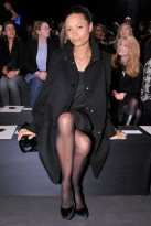 Thandie-Newton-Stella McCartney A/W 2009-Paris Fashion Week