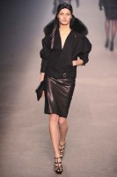 Hermes A/W 2009, Paris fashion week, catwalk show, Marie Claire