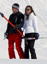 Prince William and Kate Middleton, ski holiday, news, Marie Claire