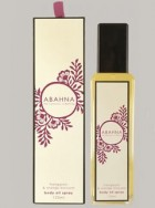 Abahna Frangipani & orange blossom body oil spray