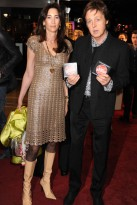 Paul McCartney and Nancy Shevell - The Boat That Rocked Premiere - 23 Mar 2009 - celebrity photos