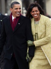 Michelle and Barack Obama - World News - Marie Claire