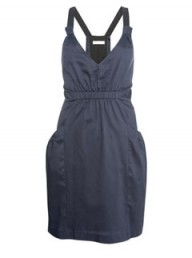 Whistles pleat back sundress