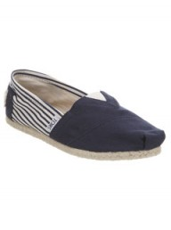 Toms navy espadrilles