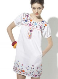 Adili embroidered dress