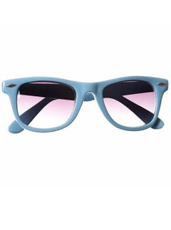 Topshop Teddy Blue sunglasses