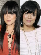 Lily Allen, 10 best celebrity hair makeovers, hair gallery, marie claire