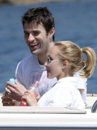 Hayden Panettiere and Steve Jones