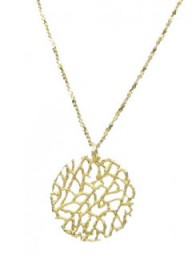 Catherine Weitzman coral collection necklace