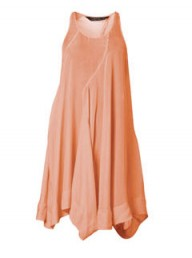 All Saints kansas coral dress