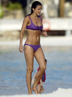 Helena Christensen - Best bikini bodies - Marie Claire