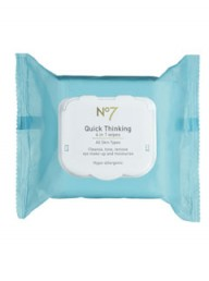 No7 Quick Thinking 4 in 1 Wipes
