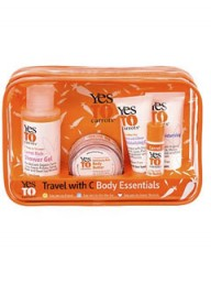 Yes To Carrots travel kit