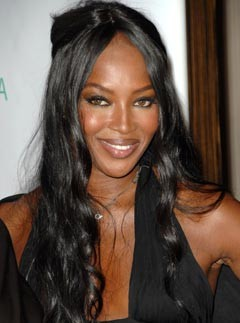Naomi Campbell - Supermodel Beauty Secrets - Beauty - Marie Claire