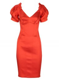 Karen Millen Satin sleeved dress