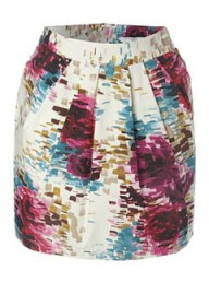 New Look Watercolour Skirt
