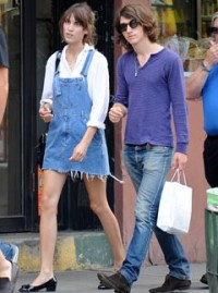 Alexa Chung and Alex Turner - Celebrity News - Marie Claire