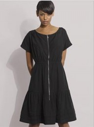 Gap zip front dress