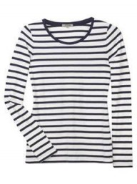Jigsaw Jersey Stripe Top