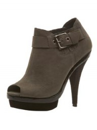Topshop double platform boots