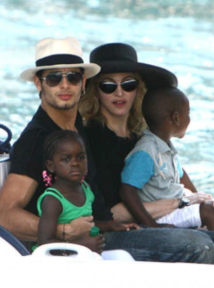 Madonna and Jesus Luz - Celebrity News - Marie Claire