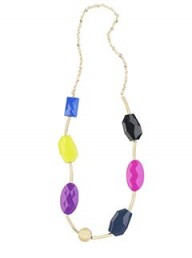 River Island large beaded necklace
