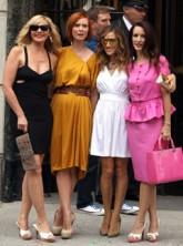 Kim Catrall, Sara Jessica Parker, Cynthia Nixon, Kristin Davis - Sex and the City 2 - Marie Claire