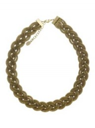 Accessorize Vintage Plait Chain Necklace