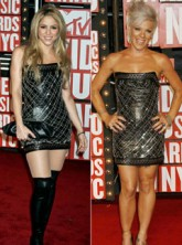 Shakira & Pink - Celebrity News - Marie Claire
