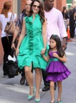 Kristin Davis with Lily - Celebrity News - Marie Claire