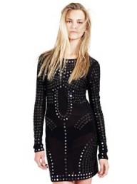 Christopher Kane for Topshop embellished bodycon dress