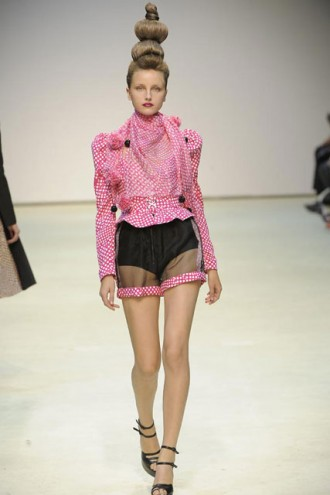 Danielle Scutt Spring/Summer 2010 - London fashion week - Marie Claire