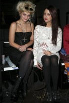 Peaches and Pixie Geldof - London Fashion Week - Celebrity photos - 20 September 2009